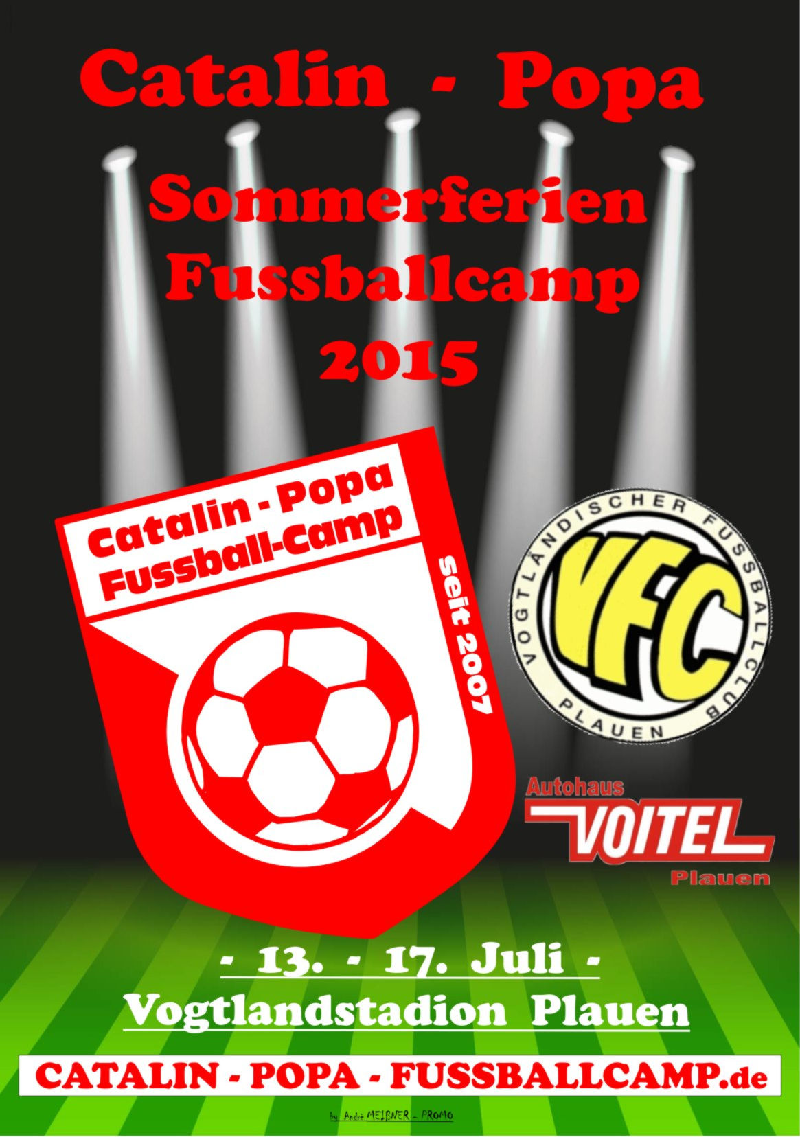 catalin popa fussballcamp poster download. Black Bedroom Furniture Sets. Home Design Ideas